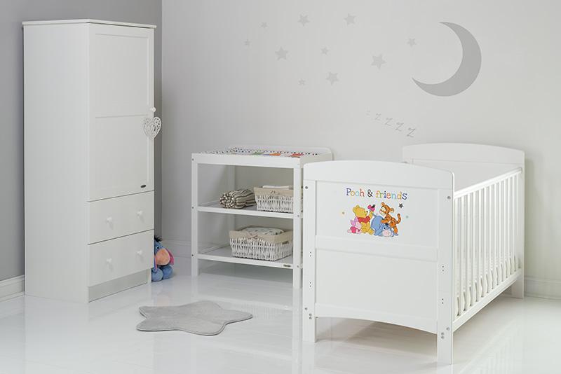 Chambre bébé Disney Inspire - Winnie L\'Ourson & Cie