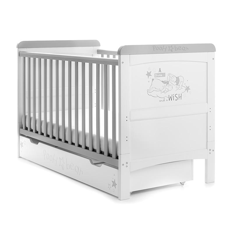 lit b b volutif winnie l 39 ourson blanc disney baby. Black Bedroom Furniture Sets. Home Design Ideas