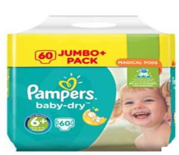 Couche bebe Pampers - Baby Dry  6+