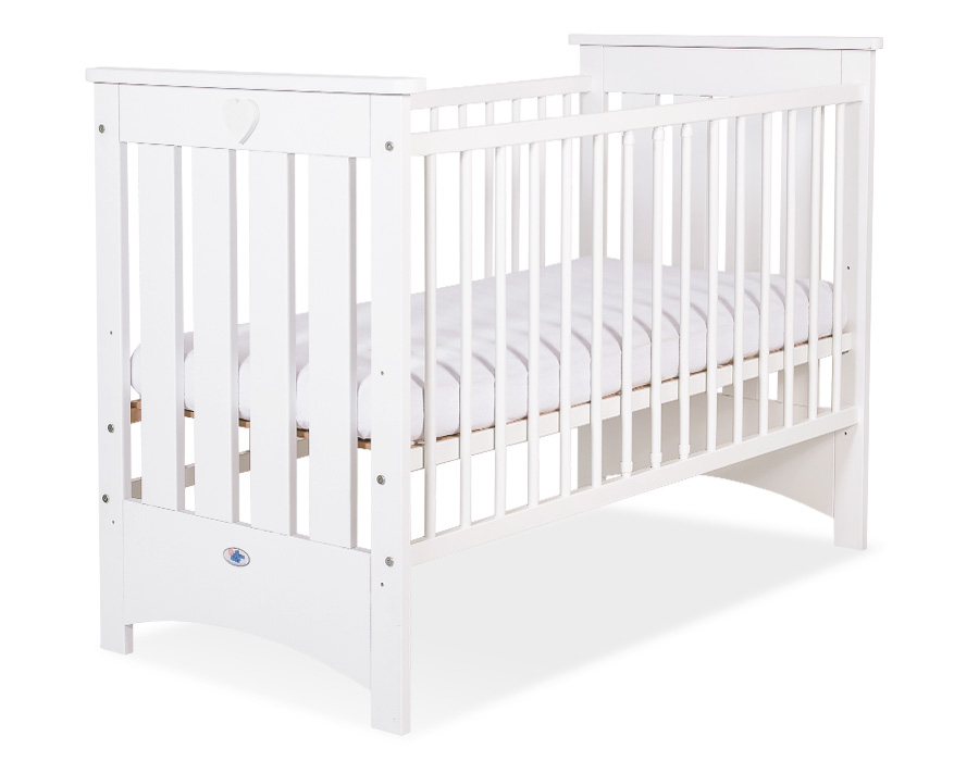 lit b b barreaux lorenzo matelas mode b b 5004 04 322. Black Bedroom Furniture Sets. Home Design Ideas