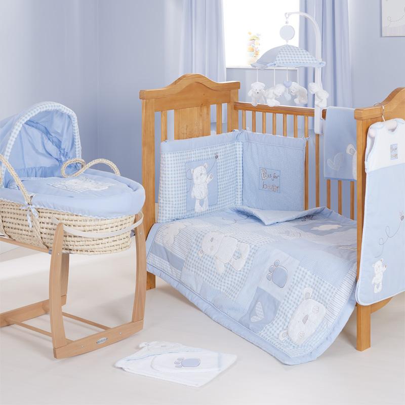Literie Berceau Ourson Bleu Disney Baby 32ob2803 Lit Bebe Sauthon