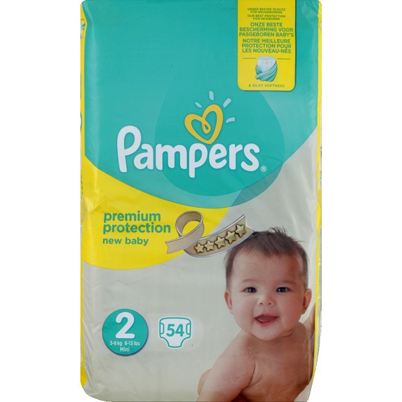 Pampers Premium Protection New Baby T 2 Pampers Magasin De La