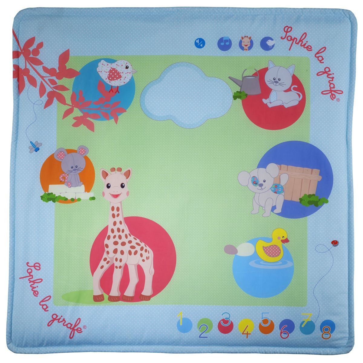 Touch   Play mat  Sophie la girafe Sophie la Girafe 240114   lit bébé  sauthon livry-gargan, biberon avent natural et doudou et compagni 94e43572ffe6