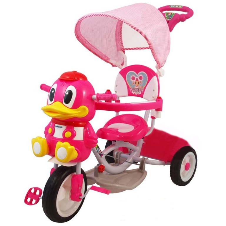 Tricycle DUCK ROSE Facile à installer e régler. Pare-soleil amovible,... par LeGuide.com Publicité