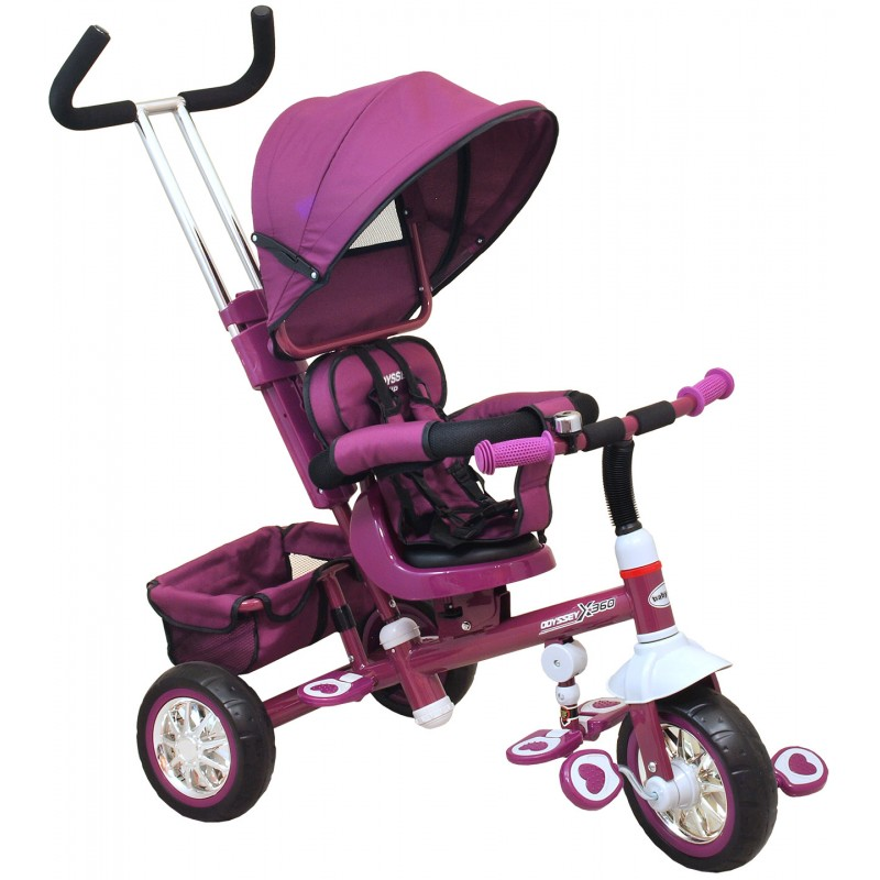 Tricycle Violet Rotations à 360 °. Tricycle permet à votre enfant de... par LeGuide.com Publicité