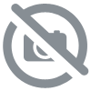 Gloop Bio Couverture Plaid Étoiles Rose 100x70cm